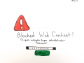 blocked web content